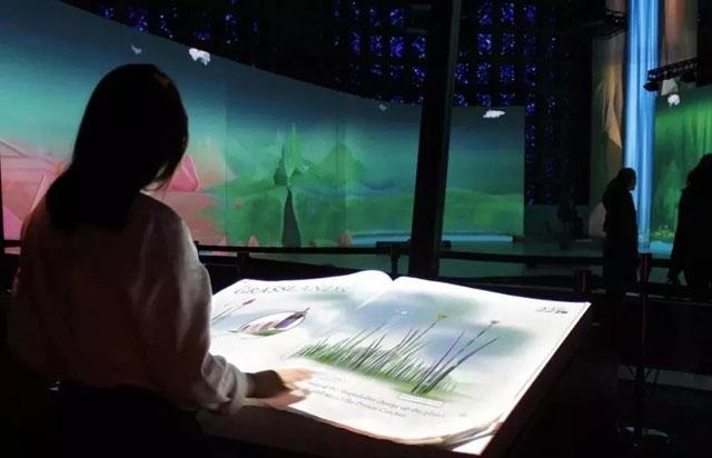 纽约科学馆的电子翻书互动生态系统