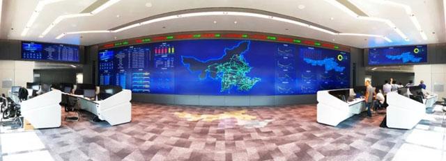 巴可高端拼接显示解决方案献力国家电网控制室