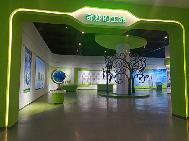 博物馆设计案例:够感受科技的力量山丹县科技馆开馆