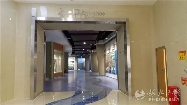 规划馆设计案例:建筑面积2390平彭水城市展览馆建成竣工