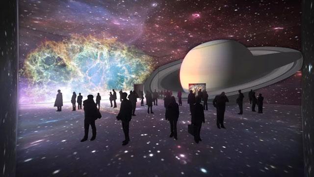 新媒体艺术案例:新媒体艺术展|月亮之上・太空艺术大展