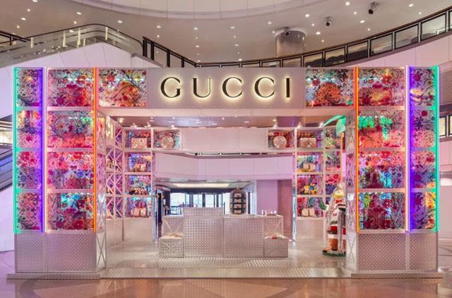 """AR增强现实案例:Gucci将融合增强现实技术,在全球开设五家主题快闪店""""GucciPi"""