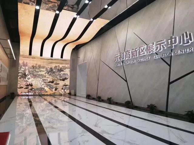 联建光电创意屏精彩亮相苏州元和高新区展示中心