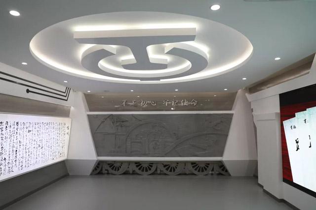 上海局集团公司合肥机务段段史陈列室正式开馆