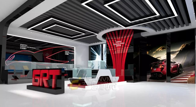 艺淳视觉|通利科技产品展厅设计方案