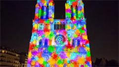 巴黎圣母院3D Mapping