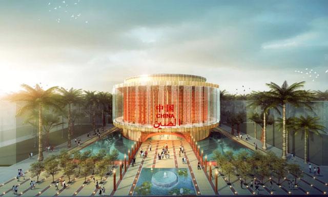 2020年世博会中国馆建筑设计方案公布,沙晓岚担任艺术总顾问。