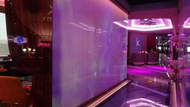 全景KTV案例:成都台北纯K-PartyKTV打造投影全景巨幕