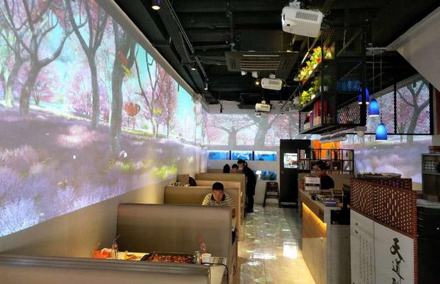 新加坡全息投影餐厅:花千代秘制烤鱼店