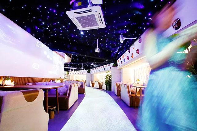 超梦幻3D互动投影餐厅强势登录四川南充
