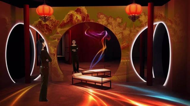 我做了一个红楼梦|剧幕式互动光影艺术展