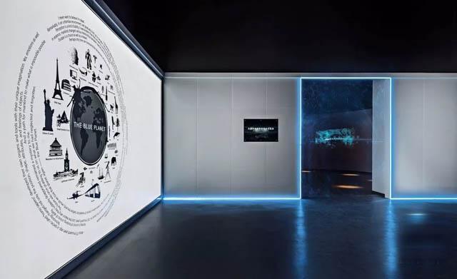 生命体验展馆案例:黑森林生物车媒体传感实验室:广袤的星空宇宙