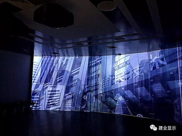 建业显示携丽讯工程投影机助力国民技术大厦展厅案例分享