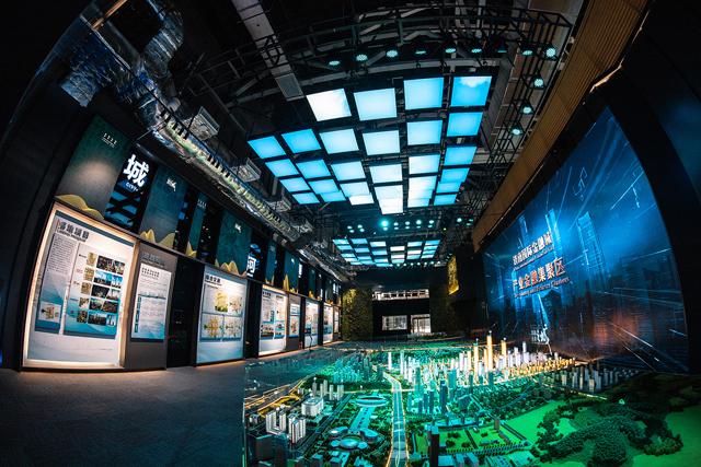 济南国际金融城展示厅等五个项目竣工