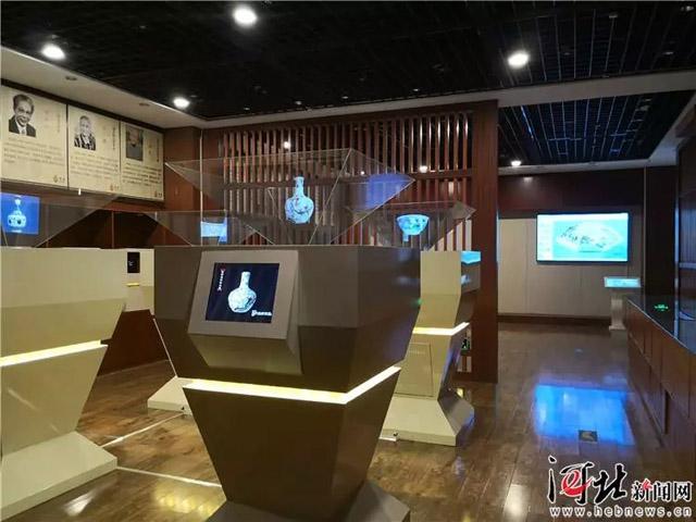 石家庄市博物馆全息文物数字展厅对外开放