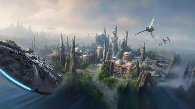 迪士尼星球大战主题乐园Galaxy