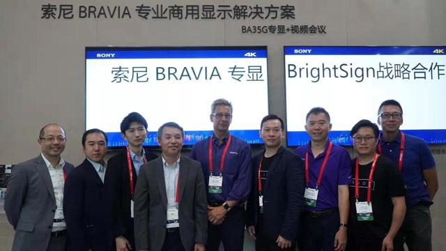 索尼与BrightSign达成战略合作共拓数字显示市场