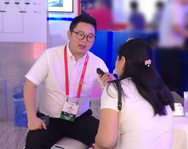 聚焦客户需求 致力创新服务——访迪恒(DHN)投影机华北大区经理刘鹏