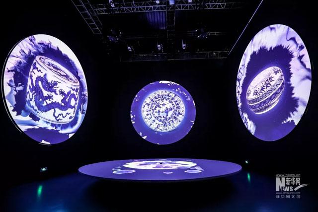 """生命体验展馆案例:""""时间的光辉-瓷生物乐园""""沉浸式艺术特展"""
