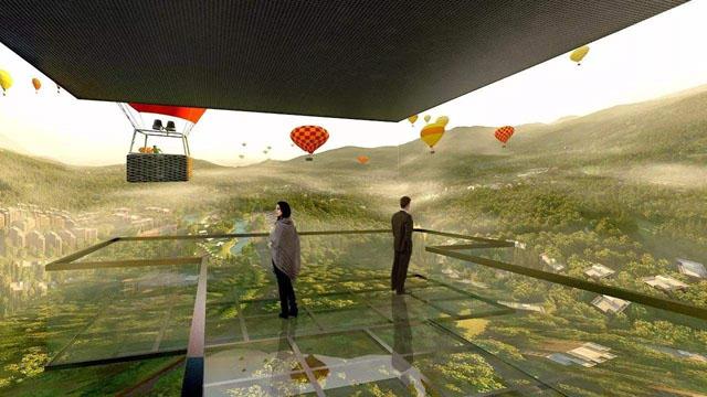 售楼部cave全息沉浸式体验系统解析,看房新体验-博视界科技