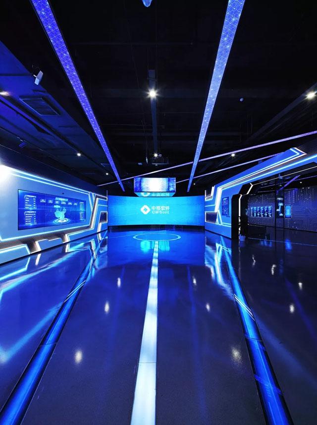 亚太嘉园打造中国移动苏州研发中心智慧展厅