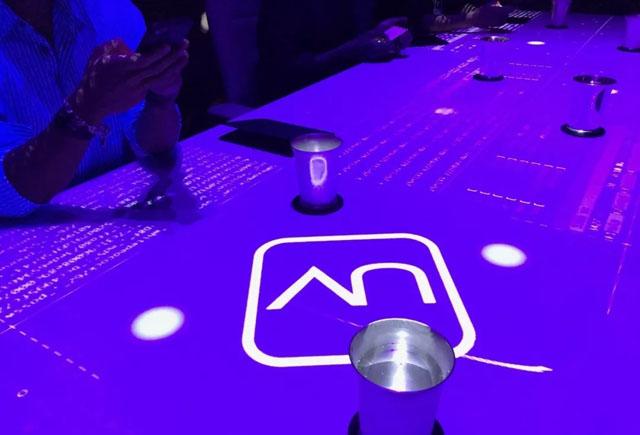数字餐厅案例:感官餐厅 SomewhereinShanghai