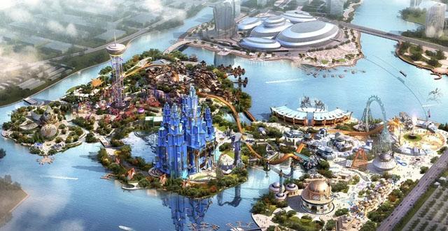 普乐方助力绍兴东方山水酷玩王国打造省级重点旅游项目