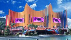 珠海长隆剧院户外创意LED显示屏案例