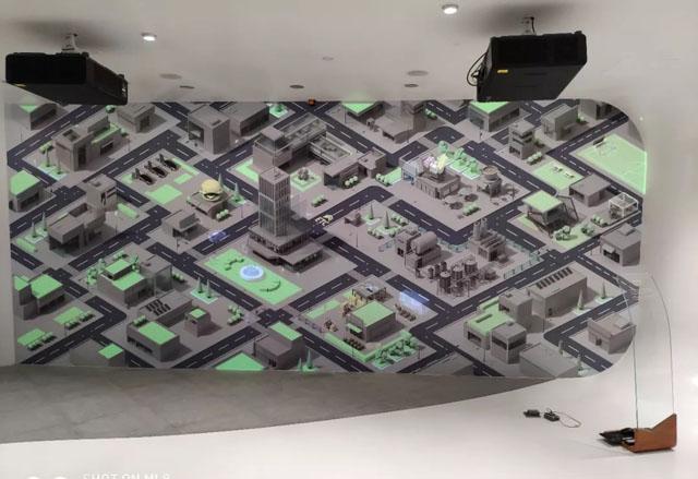 TOPTRON(拓创)为深圳前海微众银行展厅项目提供IPAD智能控制系统整体解决方案。