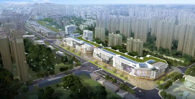金狮堂中标百强地产荣盛集团时代盛汇生活广场项目沙盘工程