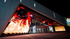 艾比森LED屏成加拿大科技博物馆门面担当