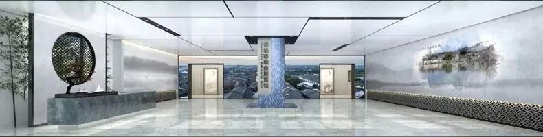 """规划馆设计案例:""""文献名邦智创新城""""――余姚市城市展览馆正式开馆"""