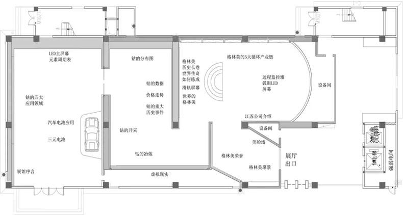 博视智能控制系统用于江苏泰兴博物馆