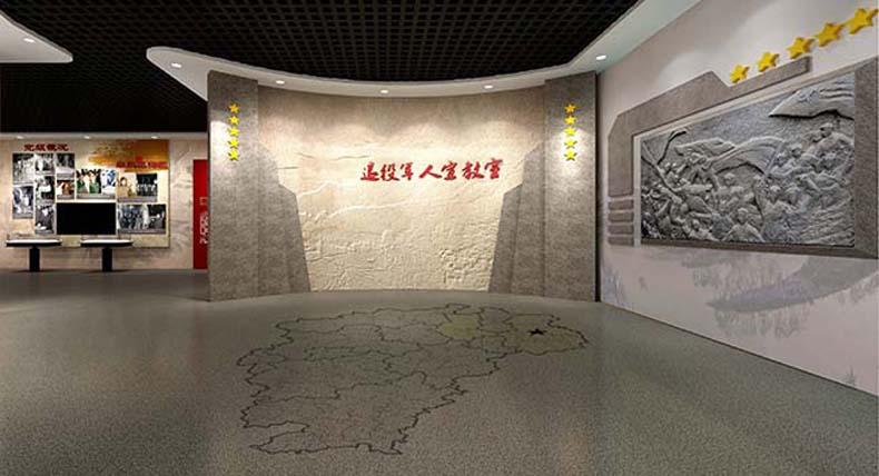 千语菱 退役军人宣教中心布展设计思路