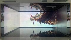 晋南钢铁可视化展厅大屏拼接多功能展示系统