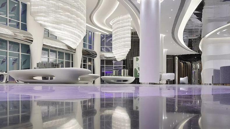 金螳螂打造全BIM数字科技住宅展厅 ——成都当代中德·璞誉售楼展厅施工纪实