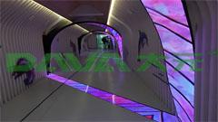 大元led树形屏、led螺旋屏创意显示案例