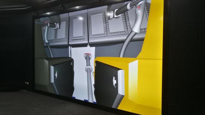 虚拟现实案例:赢康虚拟现实助力铁路客车设计