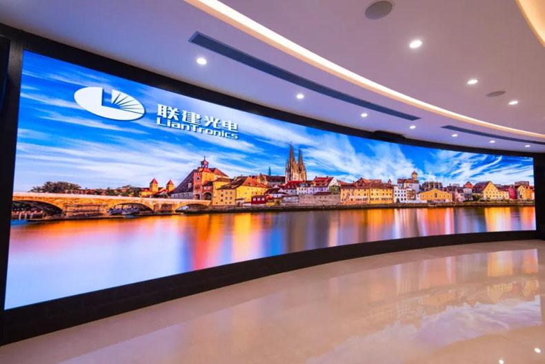 虚拟仿真案例:联建光电高清LED屏助力打造粤港澳示范区