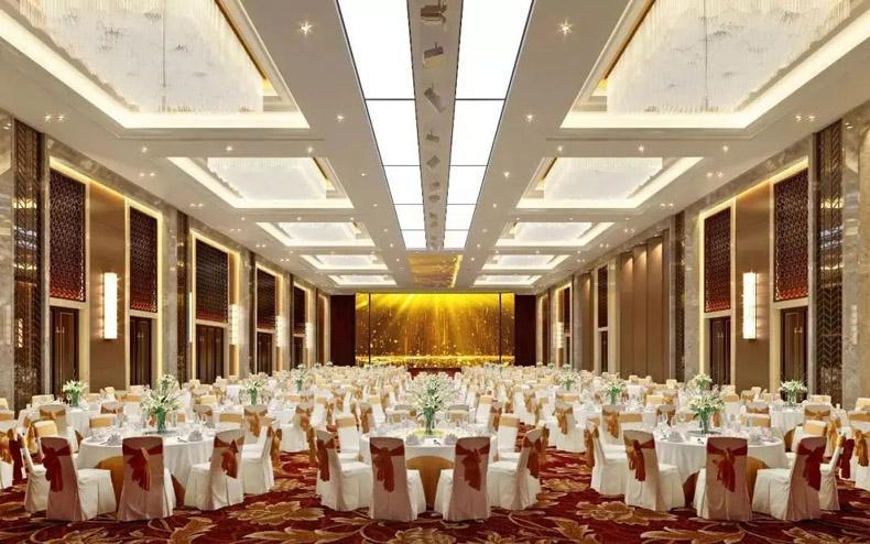 全息宴会厅案例:广州意德文化打造江阴国际大酒店5D全息宴会厅