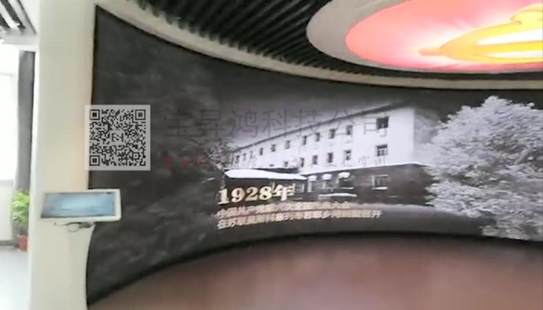 虚拟仿真案例:某新时代文明实践中心智能云控制系统