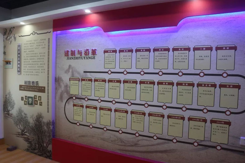 村史馆案例:追溯往昔村庄发展历程|围子街道李家村村史馆