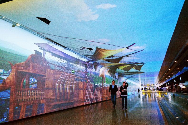 """虚拟仿真案例:穿越广州白云机场""""时空隧道""""NEC带你直冲云霄"""