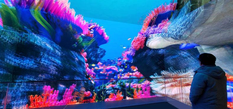 虚拟仿真案例:科视潘多拉魔盒助力青岛3D沉浸式项目