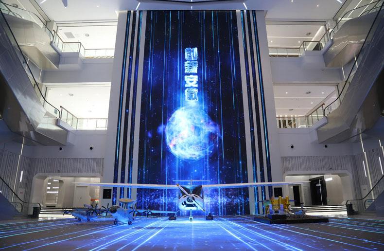 虚拟仿真案例:NEC为全国首个创新馆带来投影解决方案