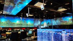 重庆江北区有一家科技感十足的餐厅