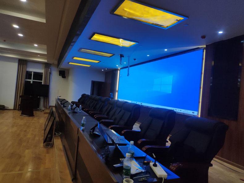虚拟仿真案例:SBOLA(世博莱)中控助力雅江县某会议室打造智能控制新体验