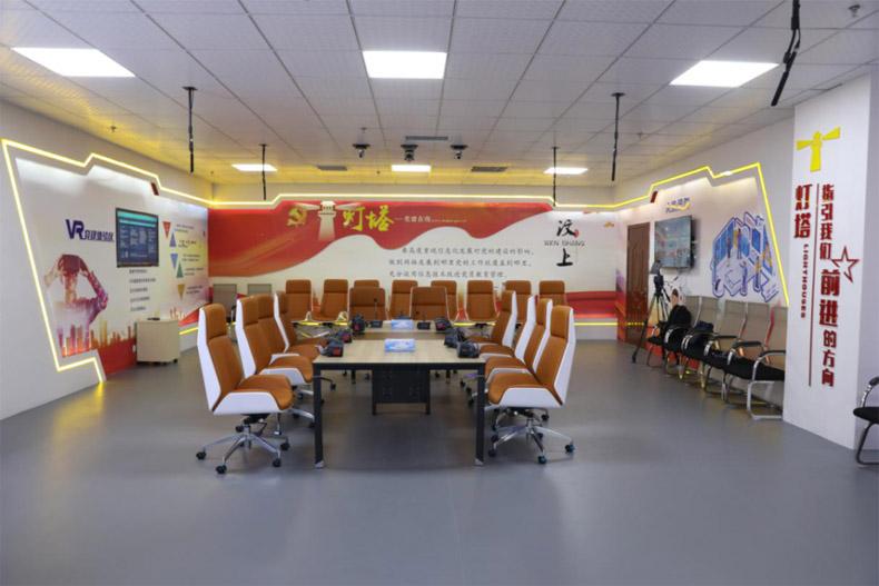 党建展厅案例:汶上县强化互联网思维打造智慧党建综合体