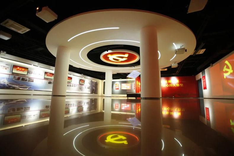 党建展厅案例:沈阳广电传媒文化博物馆党建馆正式开馆