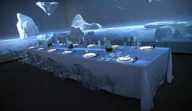数字餐厅案例:与音乐光影餐厅――让科技和艺术通过光影融入到生活点滴